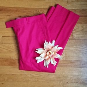Banana Republic Pink/Fushia Ankle Pants